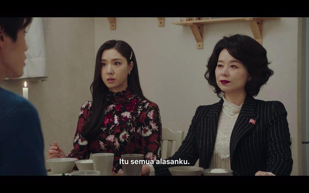Kim Jung Hyun dan Seo Ji Hye di drama Korea Crash Landing On You