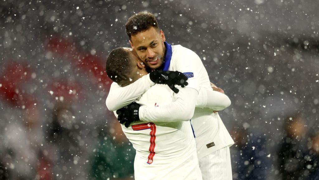 Neymar dan Mbappe Mantul nih di Liga Champions!