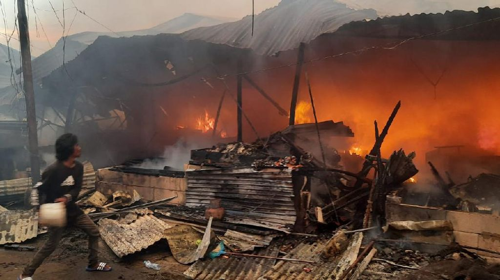 Kebakaran Jadi Momok, 35 Pasar Terbakar Sejak Januari 2021