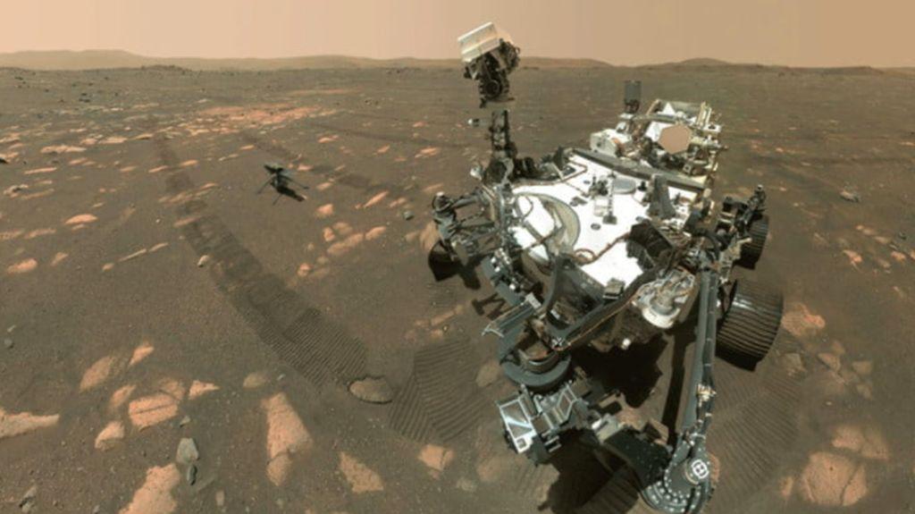 Helikopter NASA Ingenuity Lakukan Penerbangan Perdana di Mars
