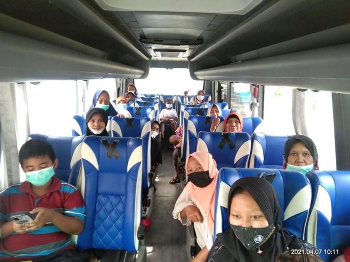 Pertamina bekerja sama dengan Pemerintah Kabupaten Indramayu memulai tahapan proses pemulangan warga terdampak ke pemukiman masing-masing.