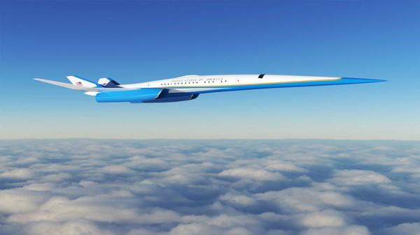 Pesawat konsepnya adalah twinjet berkecepatan Mach 1.8 dengan ledakan rendah.
