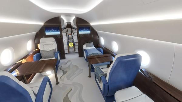 Mach 1,8 adalah kecepatan sekitar 2.222 kilometer per jam, lebih dari dua kali jelajah pesawat komersial jarak jauh. Perusahaan mengharapkan pesawat supersoniknya akan terbang pada pertengahan 2030-an.