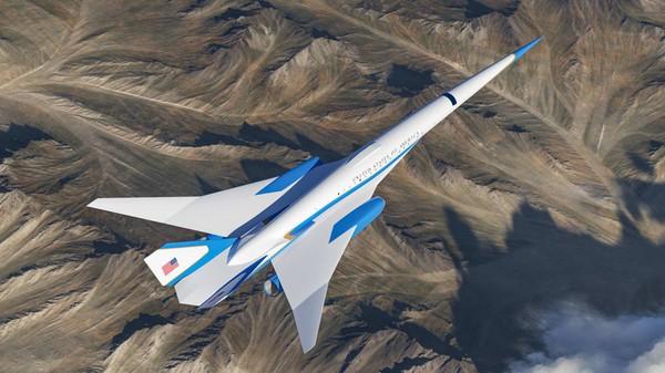 Pesawat kepresidenan AS atau Air Force One jenis supersonik telah tersiar pada September tahun lalu. Kini, penampakan kabinnya sudah bisa Anda lihat.