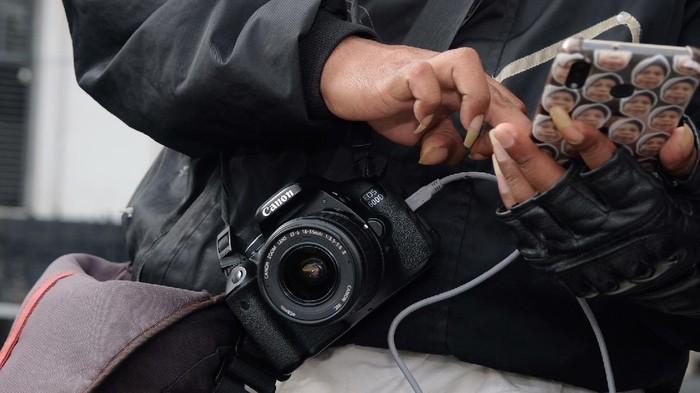 Potret Fotografer Keliling Kota Tua Mencari 'Sesuap Nasi' di Tengah Pandemi (Foto: Andhika Prasetia/detikcom)
