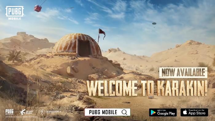 PUBG Mobile Hadirkan Peta Baru Karakin, Cuma Bisa Diisi 64 Pemain