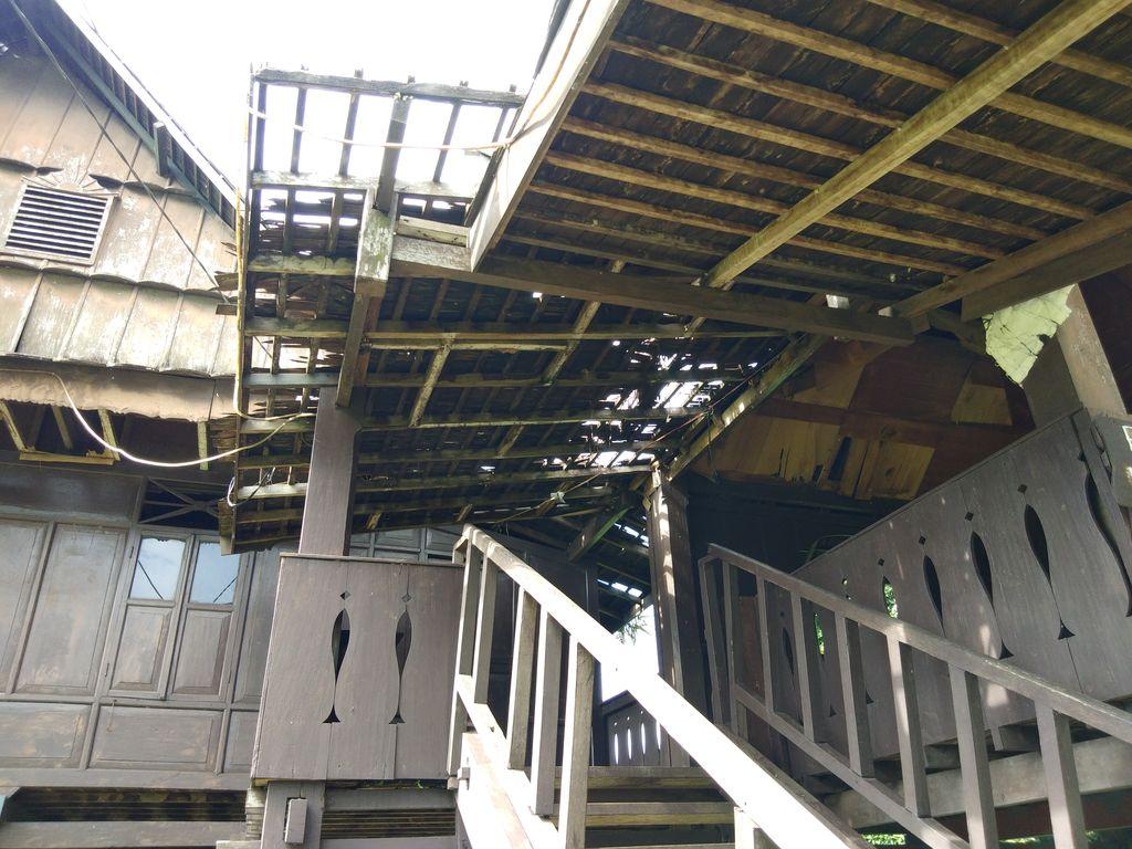 Rumah Adat di Benteng Somba Opu Sulsel Rusak hingga Nyaris Ambruk (Foto: Hermawan/detikcom)