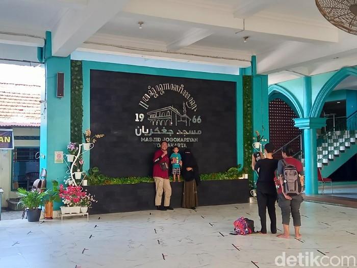 Suasana Masjid Jogokariyan menjelang Ramadhan 2021, Kamis (8/4/2021).