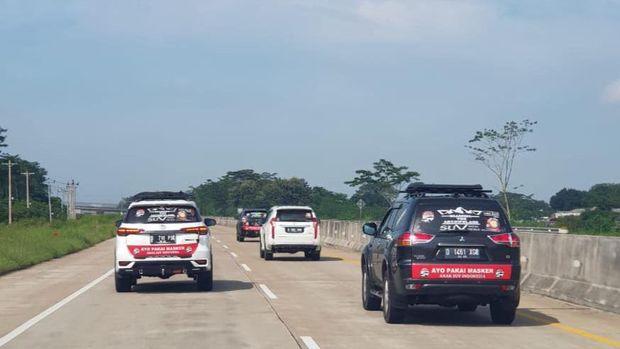 Touring Komunitas Anak SUV Indonesia
