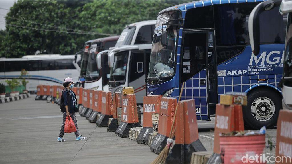Mudik Dilarang, Terminal Kampung Rambutan Tutup Rute Antar Kota
