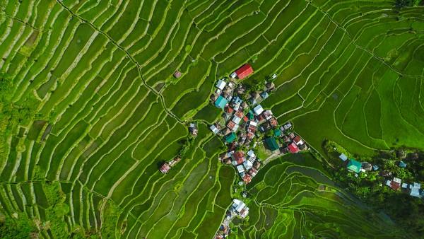 Lokasinya berada di Banaue, Provinsi Luzon.