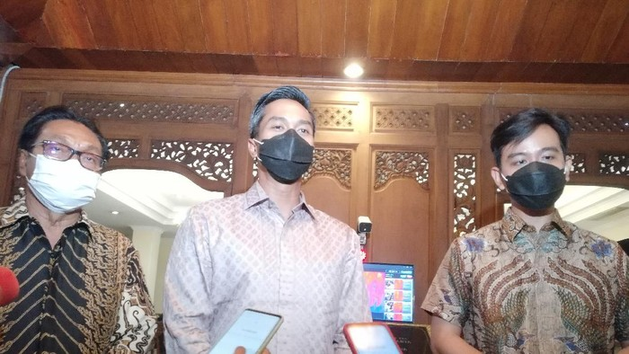 Caketum Kadin Anindya Bakrie bertemu Wali Kota Solo Gibran Rakabuming Raka