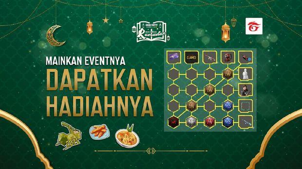 Dapatkan Berbagai Hadiah Gratis Dari Event Ramadhan Pertama di CODM