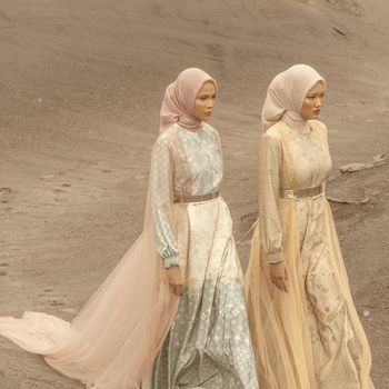 Heavenlights gelar virtual show di Gunung Bromo, Jawa Timur.