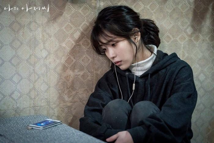 IU saat berperan dalam drama Korea My Mister
