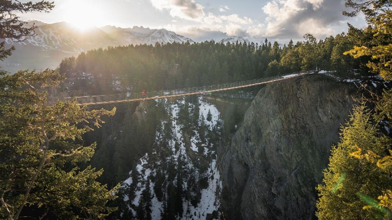 Jembatan gantung Kanada