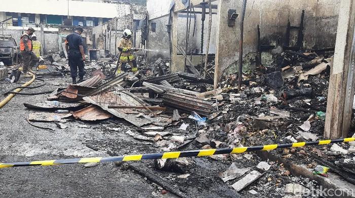 Kebakaran Pasar Kambing Tanah Abang