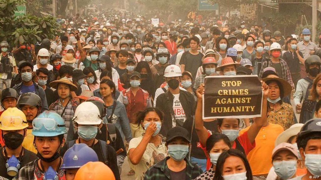 PBB Ajak Negara di ASEAN Bantu Akhiri Kekerasan Militer Myanmar