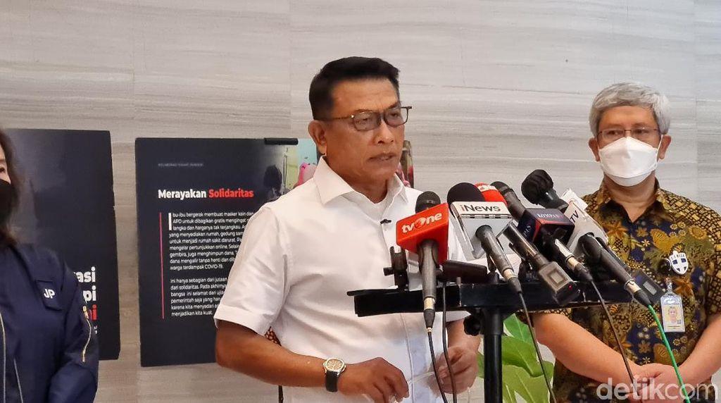 Moeldoko Tampil Bahas TMII: Saya Diperintah Pak Jokowi