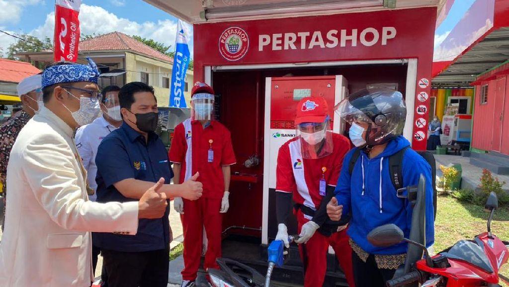 126 Pertashop Tersebar di Jawa Barat
