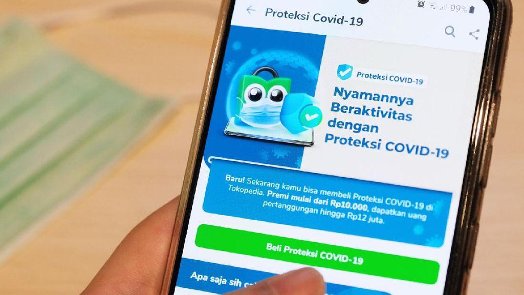 Cek Asuransi Proteksi COVID-19 Tokopedia, Mulai Rp 10.000-an!