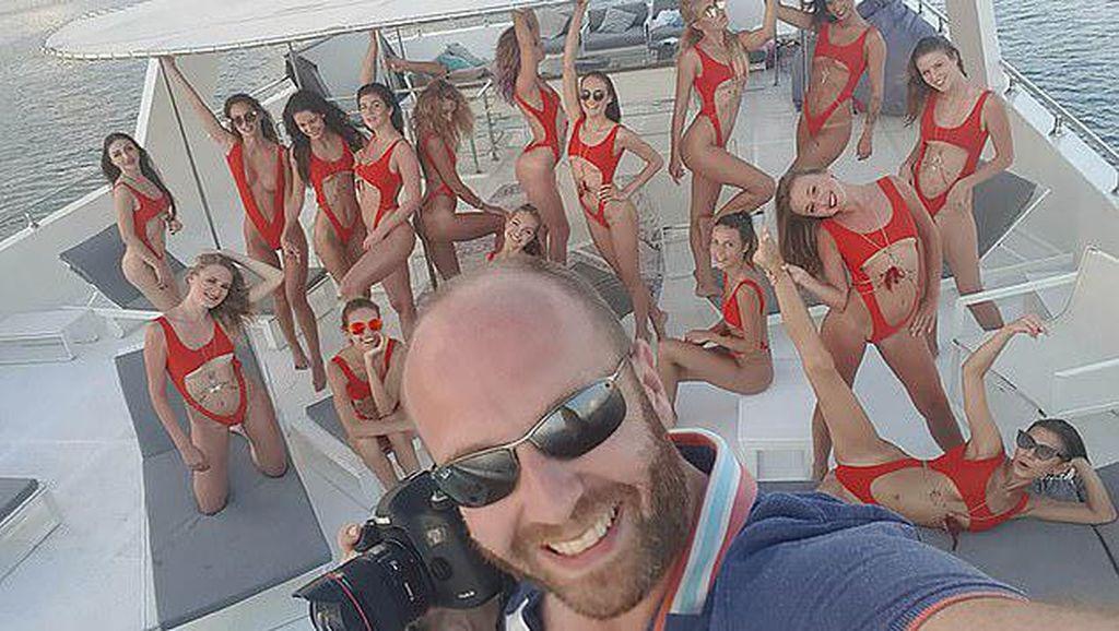 Ini Fotografer Pemotretan Bugil di Dubai yang Viral, Dikenal Sebagai Playboy