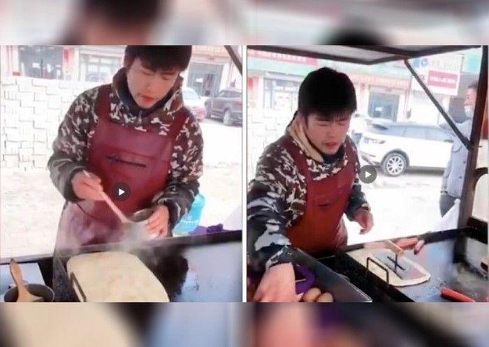 5 Penjual Makanan Mirip Artis Luar Negeri, Lee Min Ho hingga Shahrukh Khan