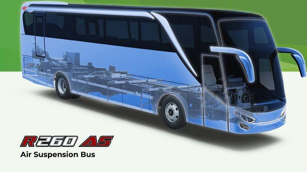 Bus Pakai Suspensi Udara, Apa Sih Keunggulannya?