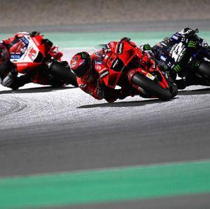 Video Bagnaia Tercepat di FP2 MotoGP Portugal, Marquez Keenam