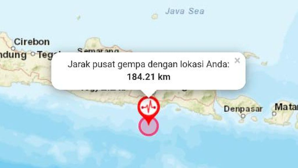Kuatnya Getaran Gempa Malang yang Tewaskan 8 Orang