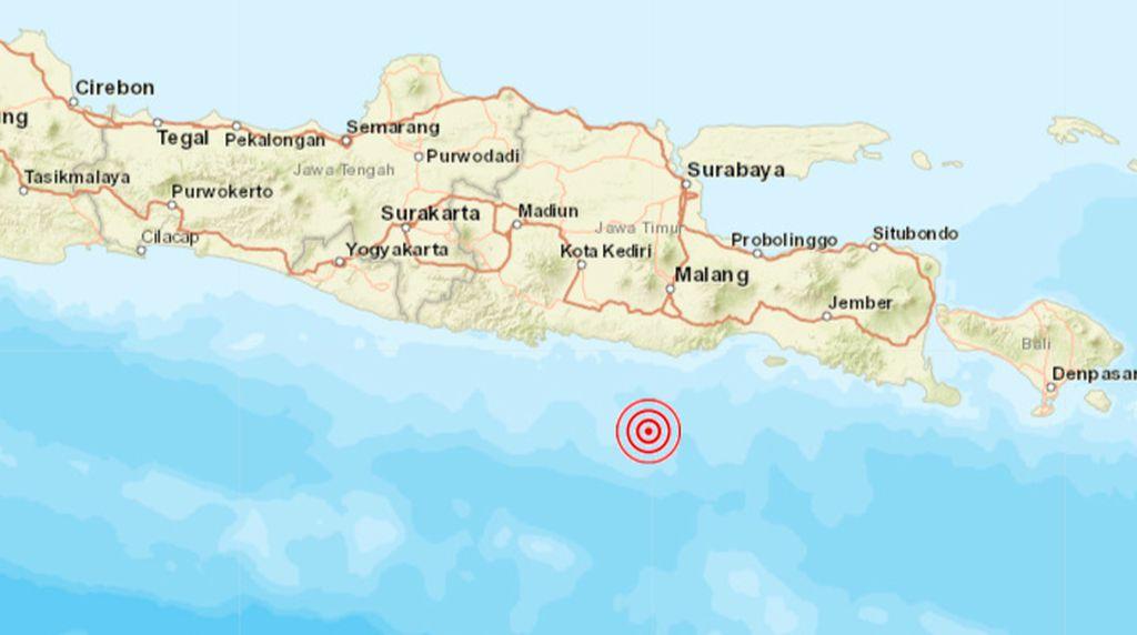 Gempa Malang M 6,7 Tidak Berpotensi Tsunami
