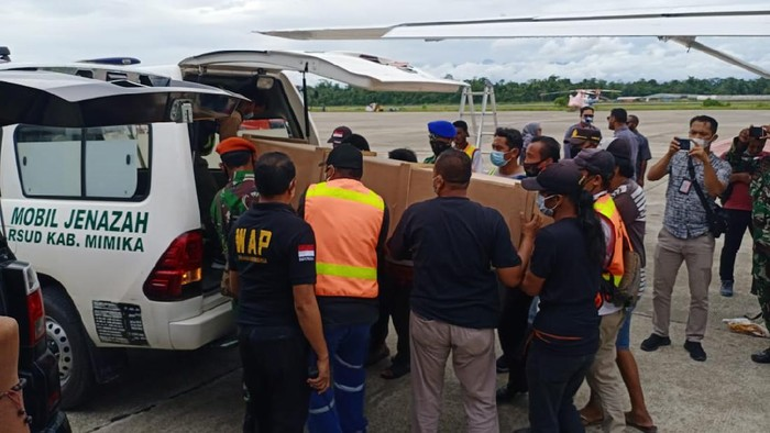 Guru korban penembakan KKB Papua.