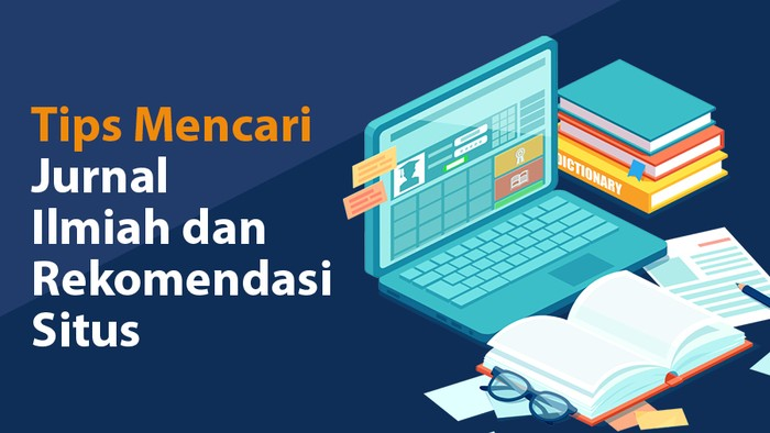 Infografis Tips Mencari Jurnal Ilmiah