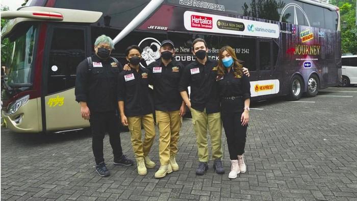 Jordi Onsu dan tim yang berada di Malang harus jalani pembersihan terlebih dulu sebelum pulang ke Jakarta