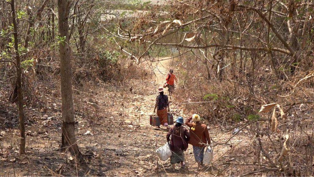 Hindari Junta Militer, Warga Myanmar Ngungsi ke India Menyusuri Jalur Setapak