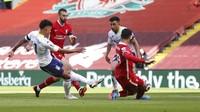 Babak I Selesai, Liverpool Tertinggal 0-1 dari Villa