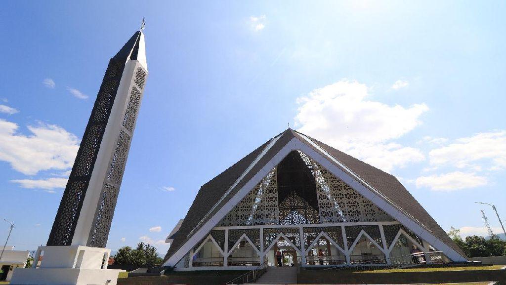 Usung Neo Futuristik, Masjid Al-Fattah Jadi Landmark Baru Stasiun Cibatu