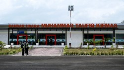 Bandara Pekon Serai Resmi Ganti Nama Jadi Muhammad Taufiq Kiemas