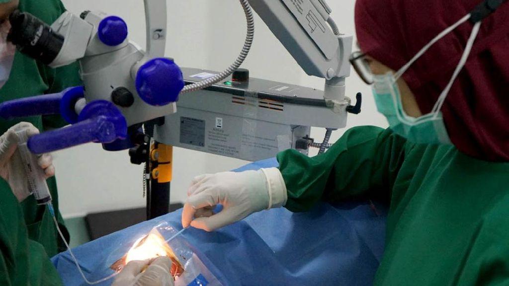 Operasi Katarak Gratis untuk Warga Tak Mampu