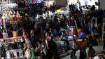 Jelang Ramadhan, Pasar Tanah Abang Rame Banget