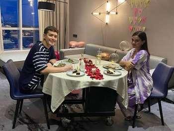 Romantisnya Audi Marissa dan Anthony Xie Saat Makan Malam Bersama