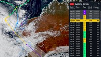 Australia Deg-degan Didatangi Siklon Seroja dari NTT