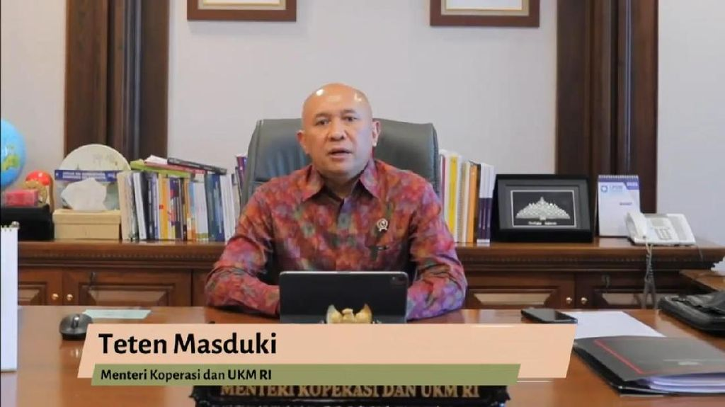 Menkop UKM Dukung UMKM Go Global Lewat Creativepreneur Conference