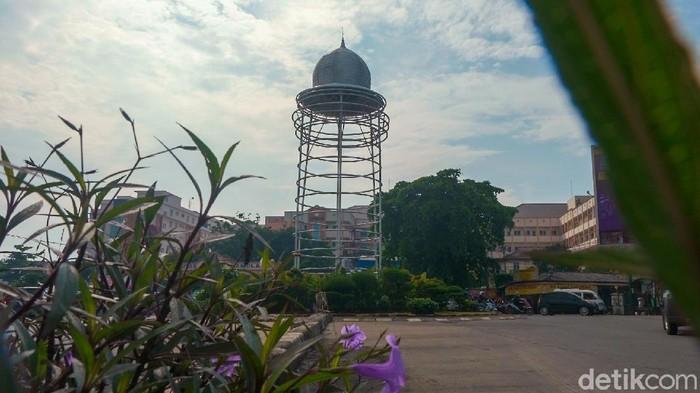 Tugu Pamulang, Kota Tangerang Selatan, Provinsi Banten. (Andhika Prasetia/detikcom)