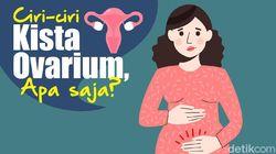 Ciri-ciri Kista Ovarium Seperti yang Sempat Diidap Aurel Hermansyah