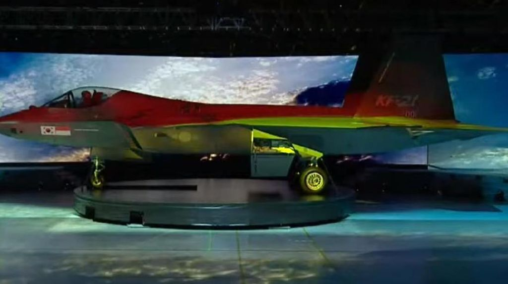 Prototipe Jet Tempur Pertama Kolaborasi Korsel-RI Berjuluk KF-21 Boramae