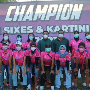 Bali Juara Turnamen Cricket Kartini Cup