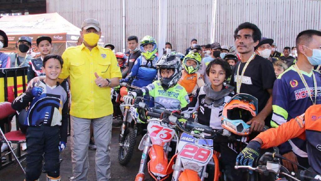 Bamsoet Buka Putaran Pertama BOS Junior Motocross Championship 2021