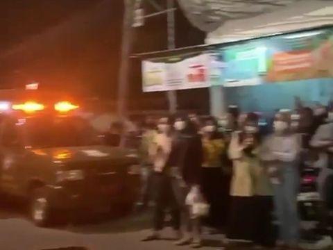Konser musik di Tangerang (Foto: tangkapan layar)