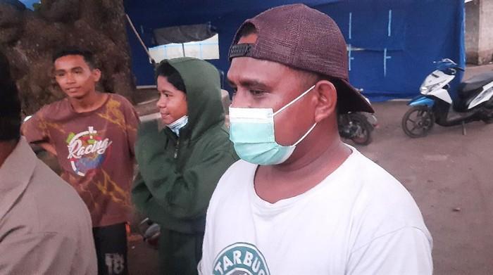 Korban selamat banjir,  Yosep Taran Nubi, warga Desa Nelelamadike, Ila Boleng, Flores Timur, NTT